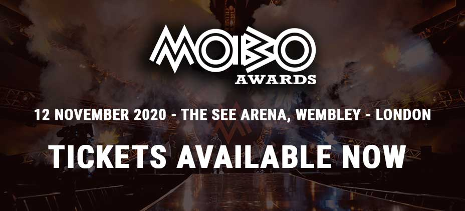 MOBO 2020 Awards - Tickets available NOW